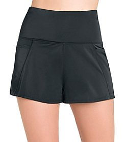 Active Spirit High Waist Swimmer Shorts