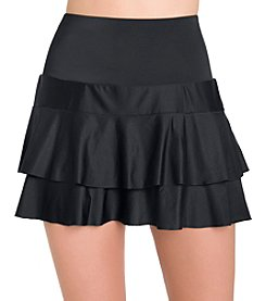 Active Spirit Tiered Swim Skirt