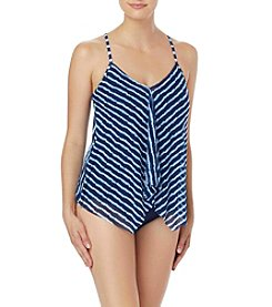 Beach House Stripe Halterkini Top