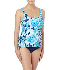 Beach House Floral U-Neck Tankini Top