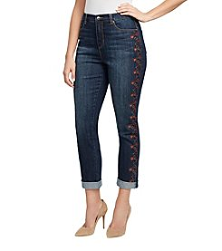 Gloria Vanderbilt Amanda Embroidered Jeans