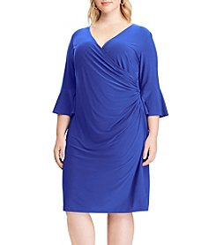 Chaps Plus Size Wedgewood Bronte Dress