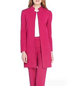 Tahari ASL Ponte Knit Topper Jacket