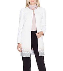 Tahari ASL Long Topper Jacket