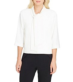 Tahari ASL Bell Sleeve Top