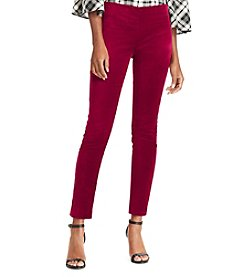 Lauren Ralph Lauren Stretch Velvet Pants