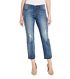 Vintage America Blues Gratia Bestie Distressed Detail Ankle Jeans