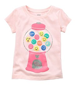 Carter's Girls' 2T-5T Short Sleeve Gumball Tee