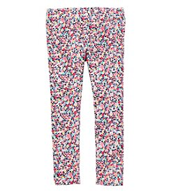Carter's Girls' 2T-8 Floral Leggings