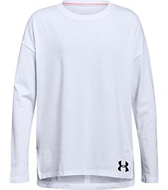 Under Armour Girls' 7-16 Long Sleeve Finale Tee