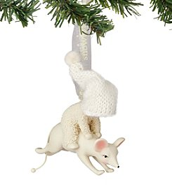 Department 56 Snowbabies Leaping With Mouse Ornament