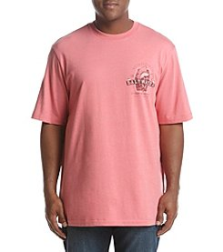 IZOD Men's Big & Tall Saltwater Marlin Graphic Tee