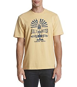 IZOD Men's Saltwater Lighthouse Short Sleeve Tee