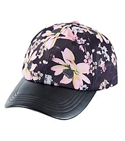 Collection 18 Floral Baseball Cap