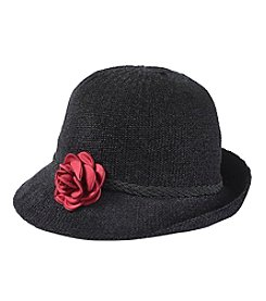 Collection 18 Packable Rose Cloche Hat