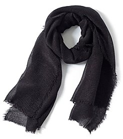 Collection 18 Lurex Pleat Slimmy Scarf
