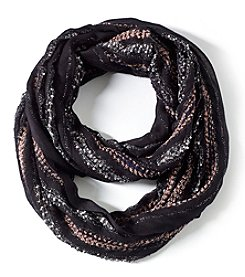 Collection 18 Popcorn Pleat Loop Scarf