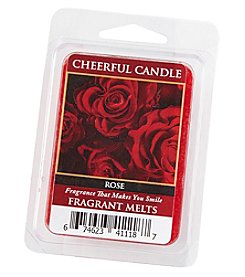 Cheerful Candle Red Rose Fragrant Wax Melts