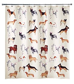 Avanti® Dogs On Parade Shower Curtain