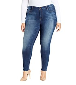 William Rast Plus Size Sculpted High Rise Skinny Jeans