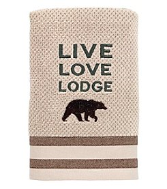 Avanti® Cabin Words Hand Towel