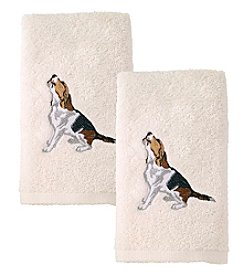 Avanti® Beagle 2-Pack Hand Towels