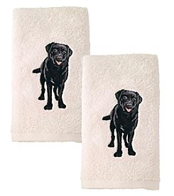 Avanti® Set of 2 Labrador Hand Towels