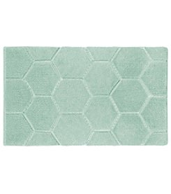 Laura Ashley Pearl Honeycomb Bath Mat