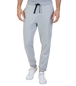 Nautica Men's Big & Tall Knit Pant With Ribbed Cuff