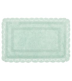 Laura Ashley Crochet Bath Rug