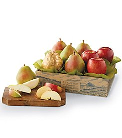 Harry & David Pears and Apples Gift Box