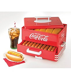 Nostalgia Electrics® Coca-Cola Hot Dog Steamer