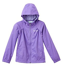 Columbia Girls' 7-14 Switchback Rain Jacket