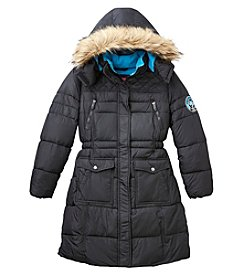 Weatherproof Girls' 7-16 Hooded Parka Jacket