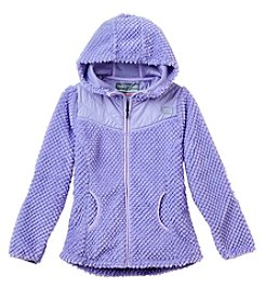 Hawke & Co. Girls' 7-16 Hooded Fleece Jacket
