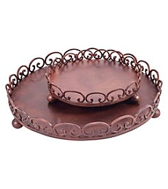 The Pomeroy Collection Corona Set of 2 Trays