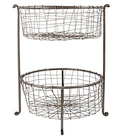 The Pomeroy Collection Rockwell Double Utility Basket