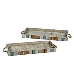 The Pomeroy Collection Carril Set of 2 Trays