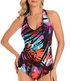 Magicsuit Tropical Printed Tankini Top