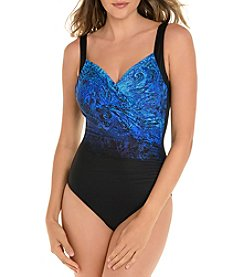 Miraclesuit Printed One Piece Suit