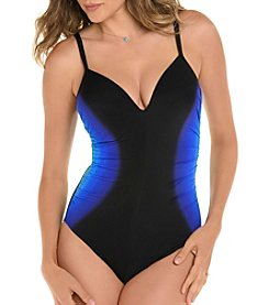 Miraclesuit Ruched Side One Piece Suit