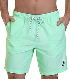Nautica Men's Nylon Swim Trunks