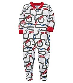 Carter's Baby Boys' 12M-5T One Piece Racetrack Snug Fit Cotton Pjs