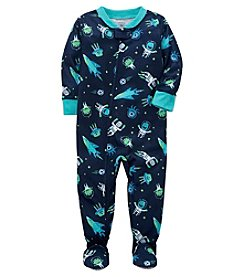 Carter's Baby Boys' 2T-5T One Piece Alien Astronaut Snug Fit Cotton Pajamas