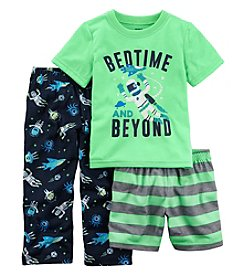 Carter's Boys' 2T-20 3-Pc. Glow In The Dark Bedtime And Beyond Pajama Set