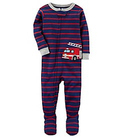 Carter's Boys' 12M-5T One Piece Firetruck Snug Fit Cotton Pjs