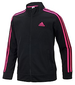 adidas Girls' 2T-16 Tricot Track Jacket