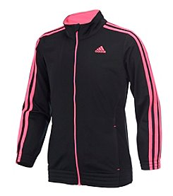 adidas Girls' 4-20 Warm Up Tricot Jacket