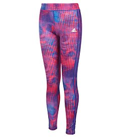 adidas Girls' 8-16 Dot Leggings
