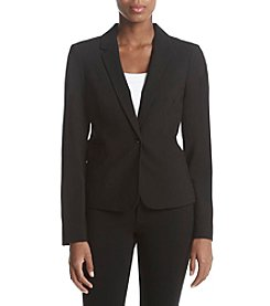 Calvin Klein Single Button Fitted Blazer